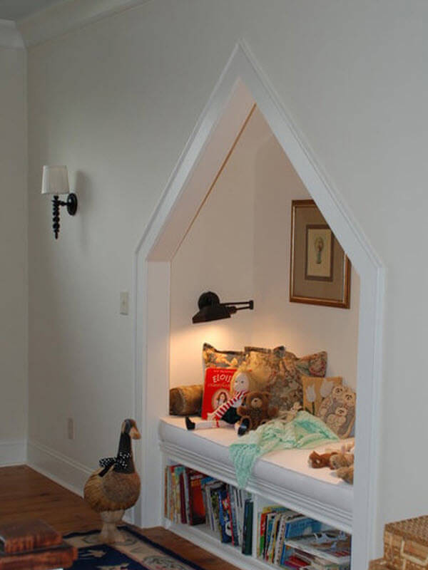 Reading Nook In A Wall