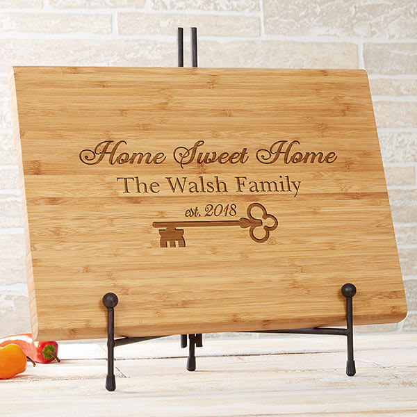 Real Estate Closing Gifts - Engraved Cutting Board
