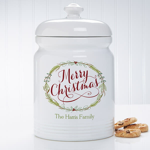 Real Estate Closing Gifts - Holiday Cookie Jar