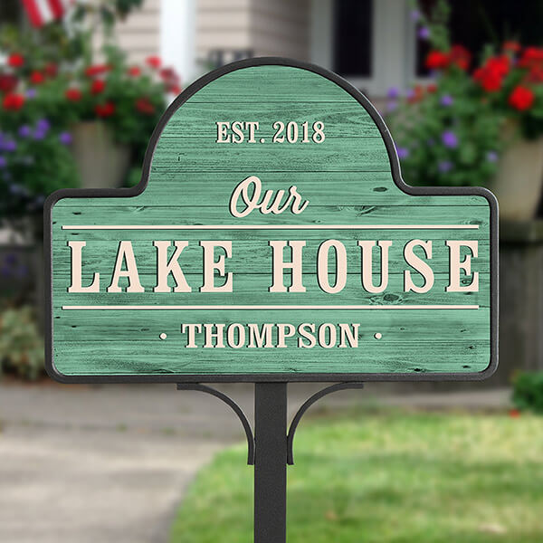 Real Estate Closing Gifts - Welcome Garden Sign
