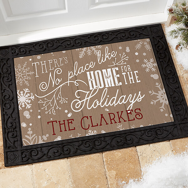 Real Estate Closing Gifts - Christmas Doormat