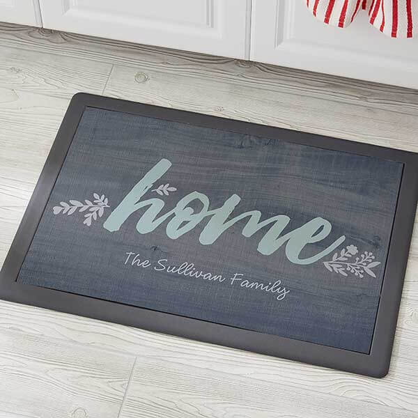 Real Estate Closing Gifts - Personalized Kitchen Mat