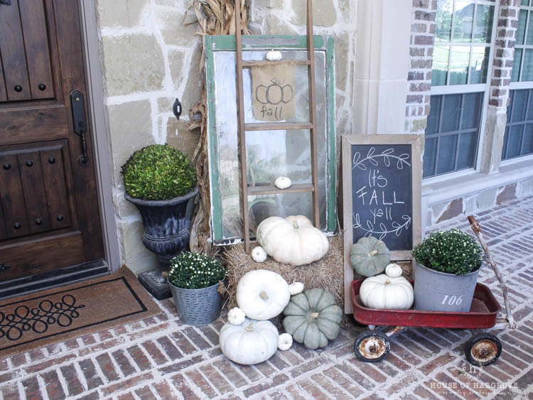 Vintage Fall Farmhouse Decor Ideas