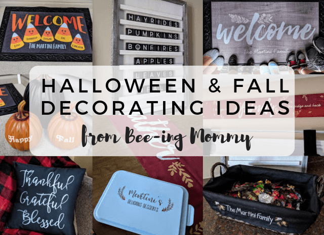 Halloween & Fall Decorating Ideas from Bee-ing Mommy