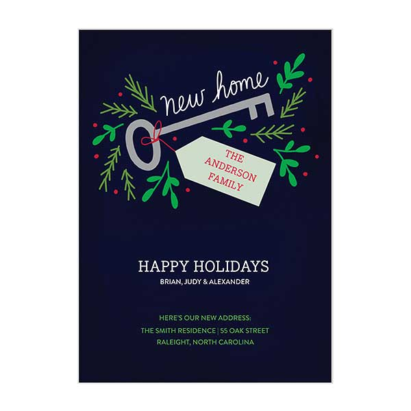 Custom Holiday Announcement Cards