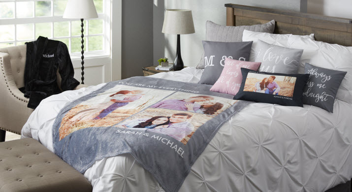 Personalized Home Decor For Bed & Bath