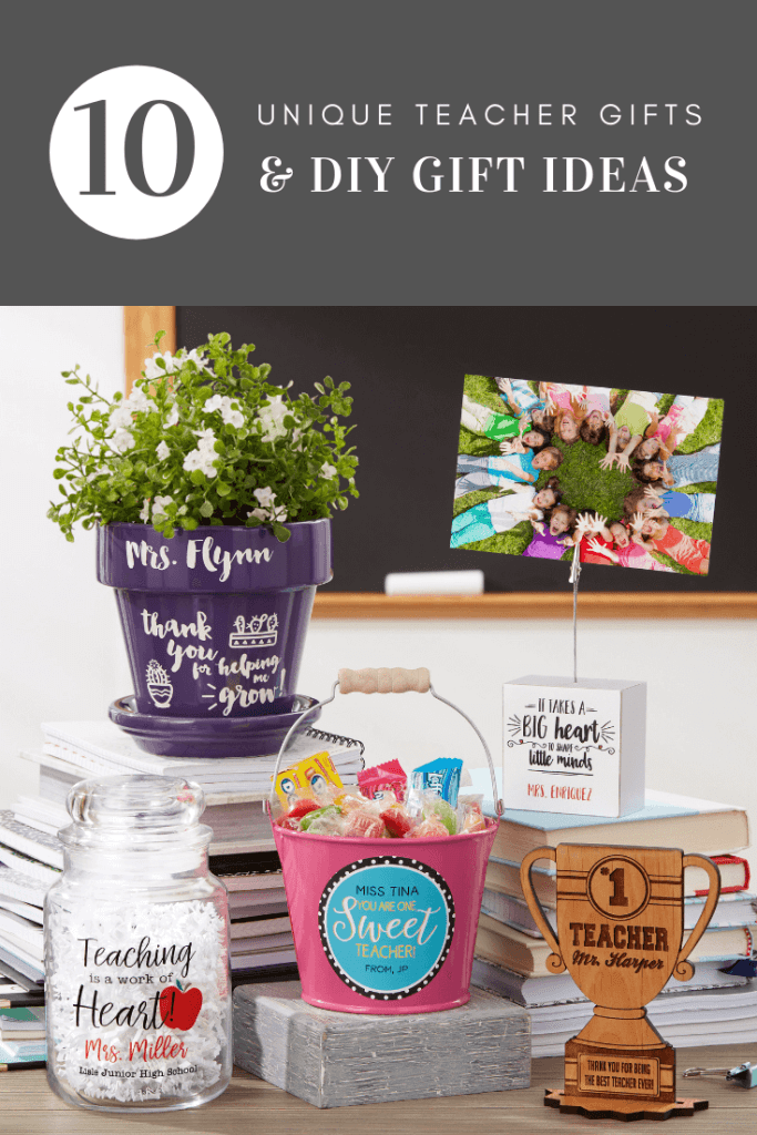 10 Unique Teacher Gifts & DIY Gift Ideas