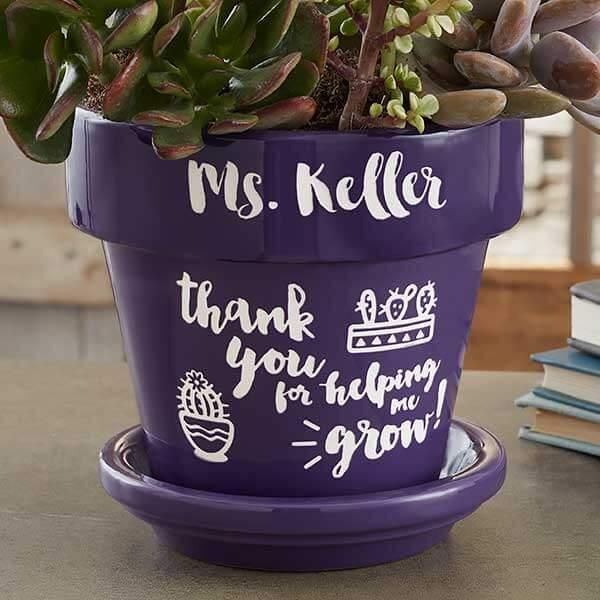 Teacher Flower Pot
