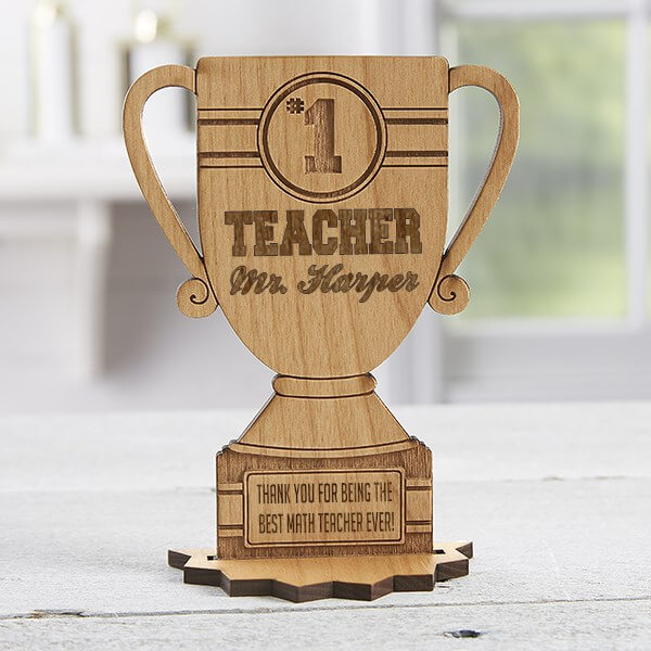 Teacher Trophy Gift