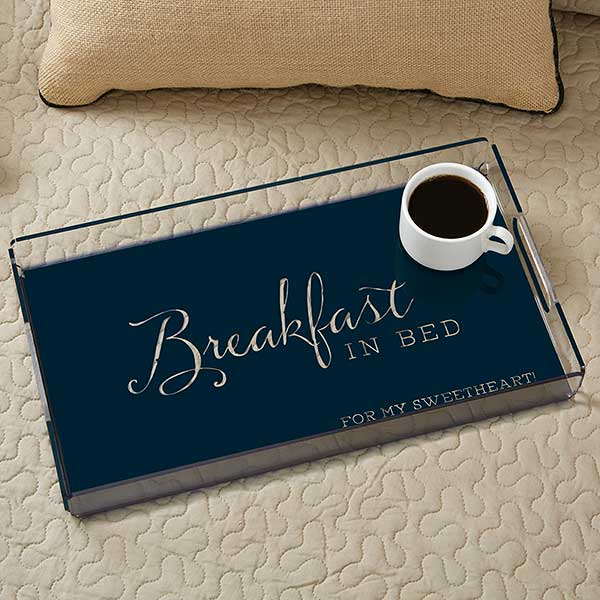 Typography Quotes Personalized Serving Tray