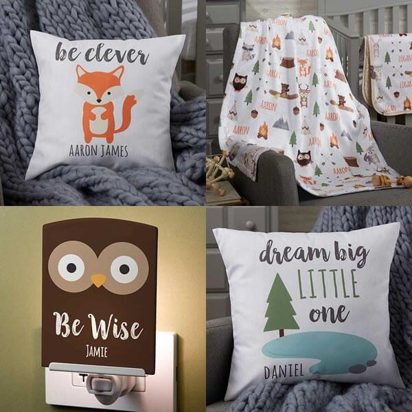 Woodland Adventure Baby Collection