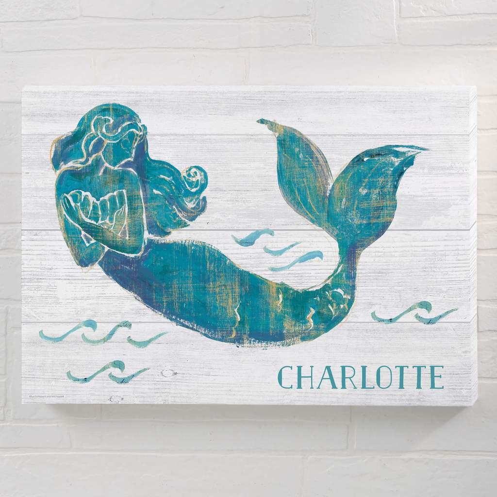 Mermaid Nursery Decor - Wall Art