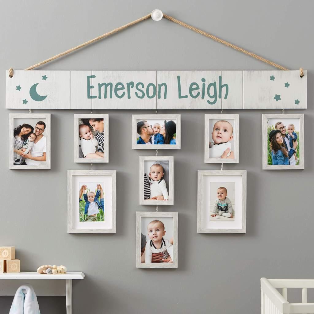 Moon & Stars Nursery Decor - Picture Frame Wall Decor