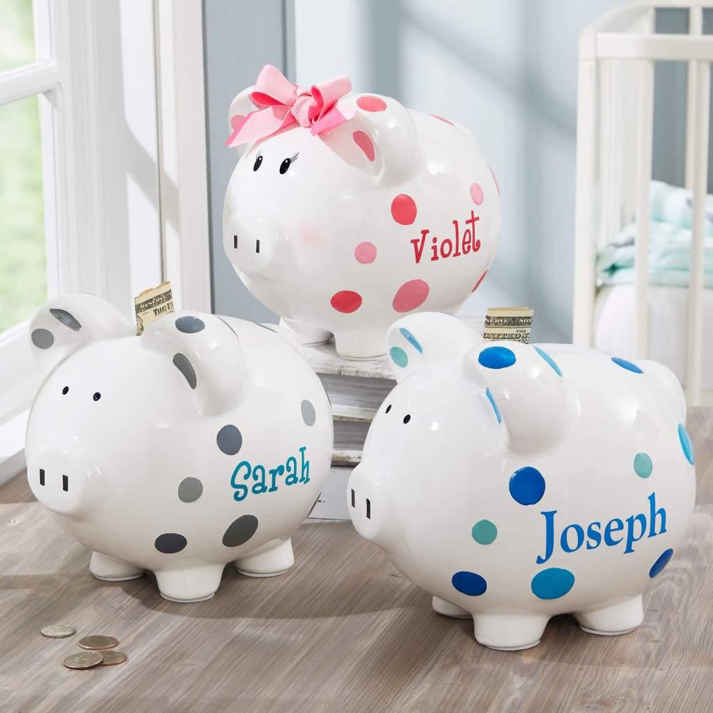 Nursery Decor Ideas - Piggy Banks