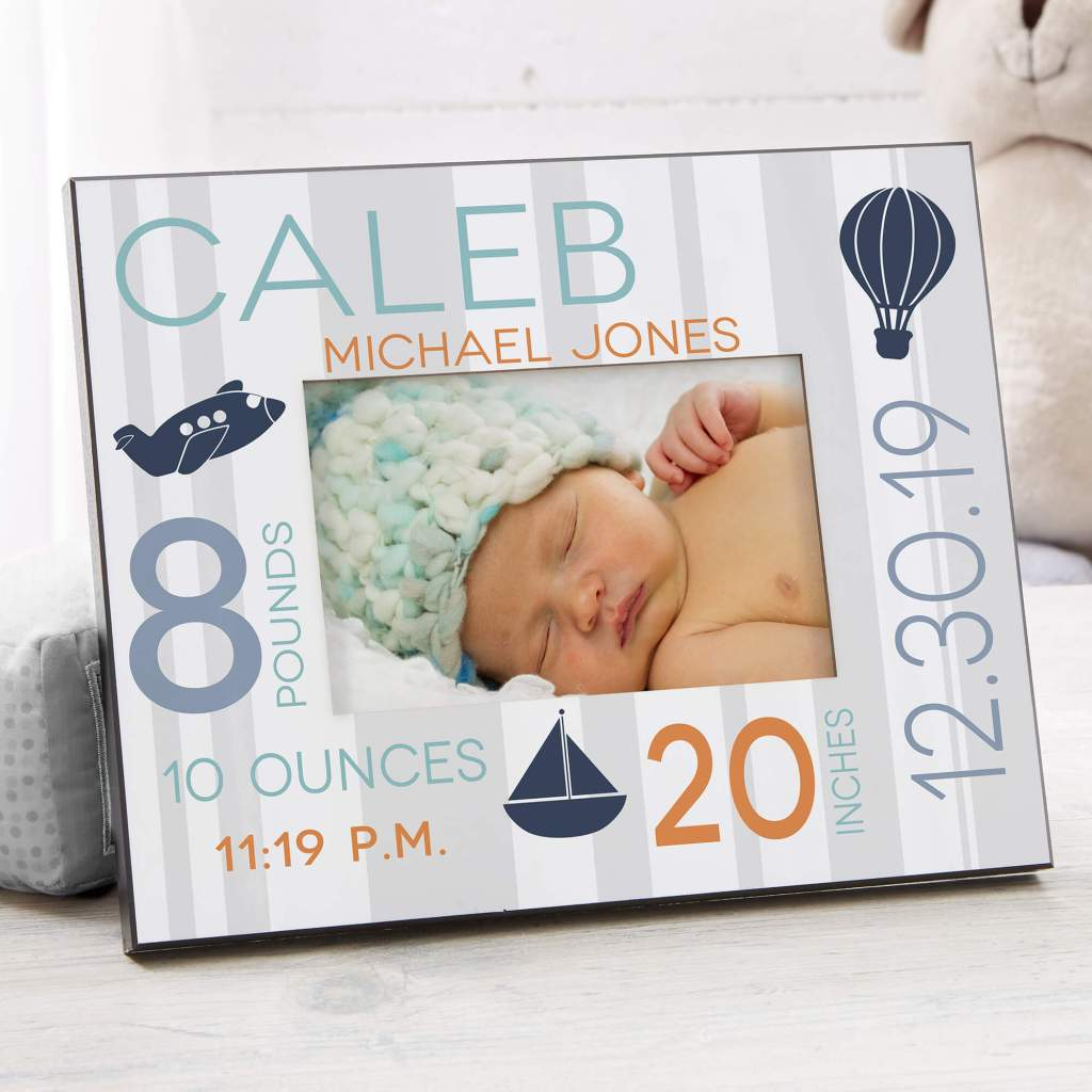 Transportation Nursery Decor - Picture Frame