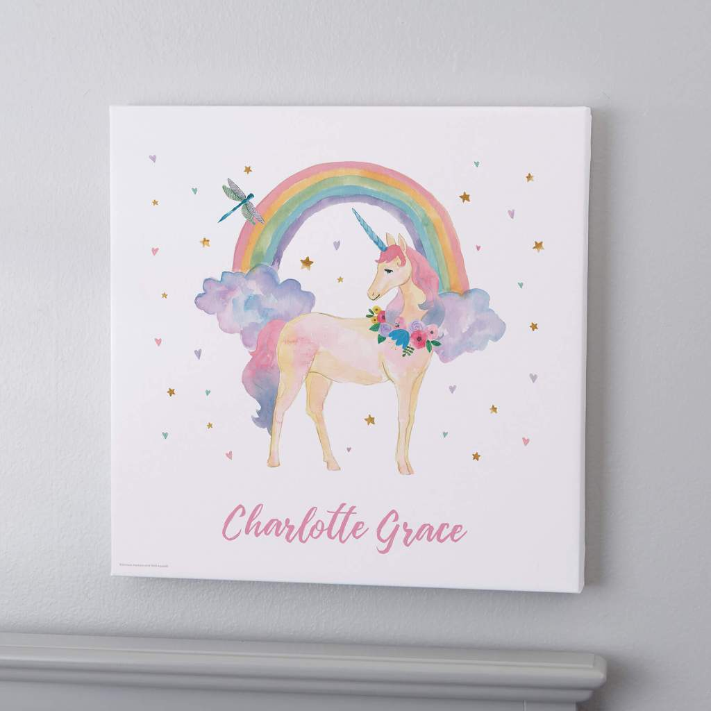 Unicorn Nursery Decor - Wall Art