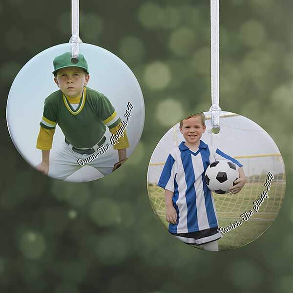 Personalized Kids Photo Ornament
