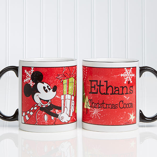 Mickey Mouse Kids Christmas Mugs