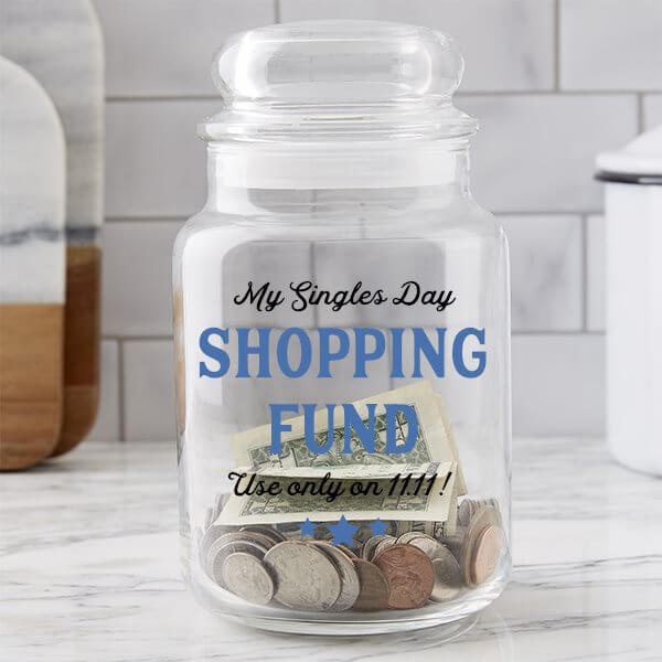 Singles Day Gift Ideas: Money Jar