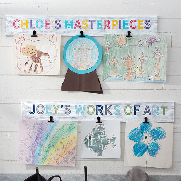 Kids Art Display Sign