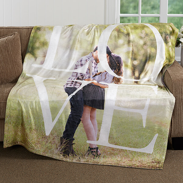 Love Photo Blanket
