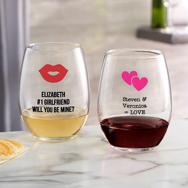 Romantic Icon Wine Glasses