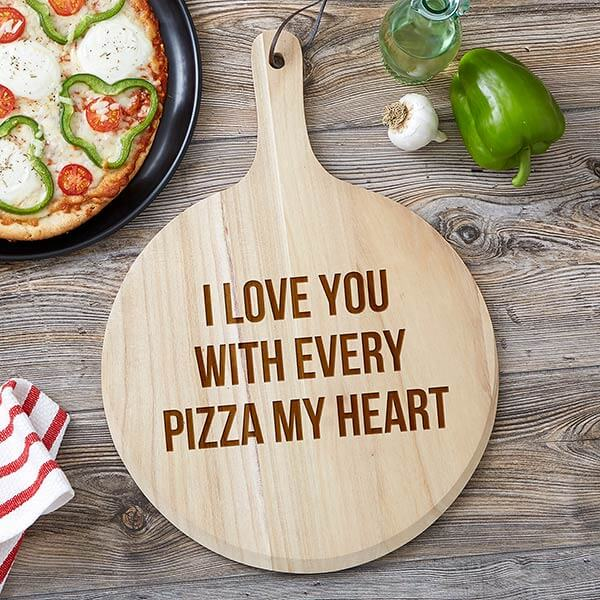 Romantic Pizza Peel Gift Set