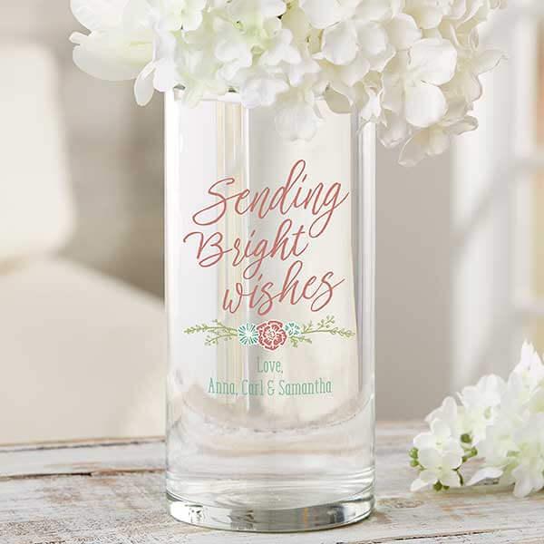 Sending Bright Wishes Flower Vase