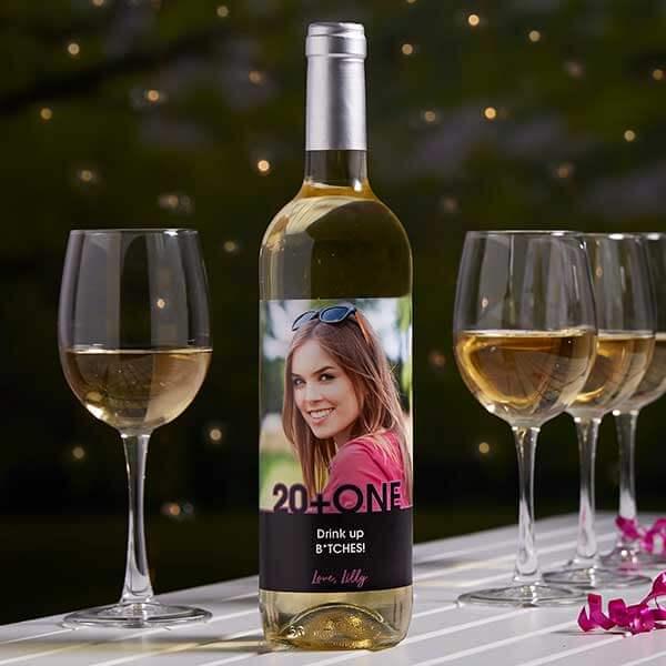 Photo Wine Bottle Labels