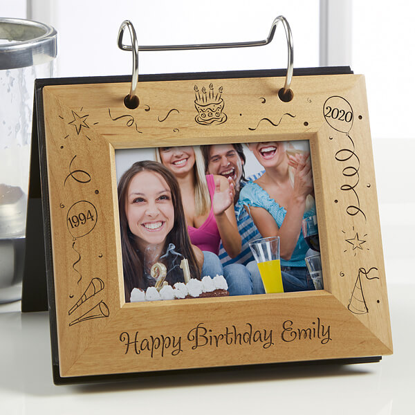 Custom Birthday Photo Album