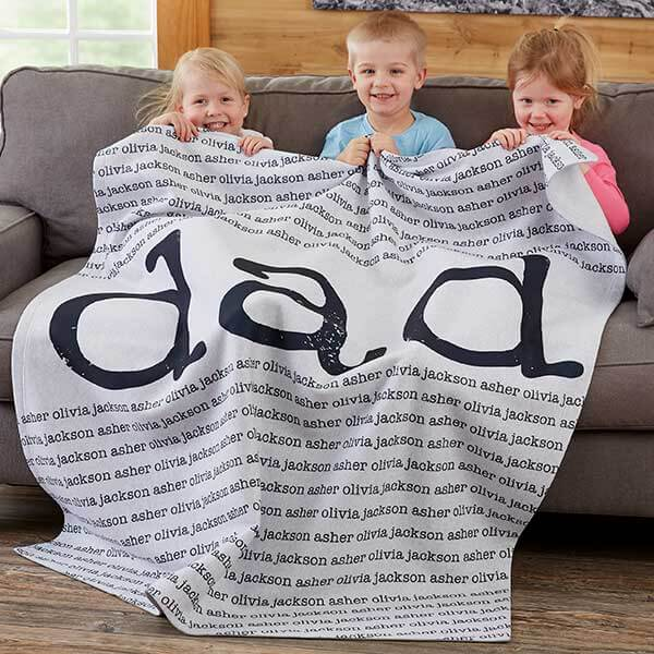 Father's Day Blanket