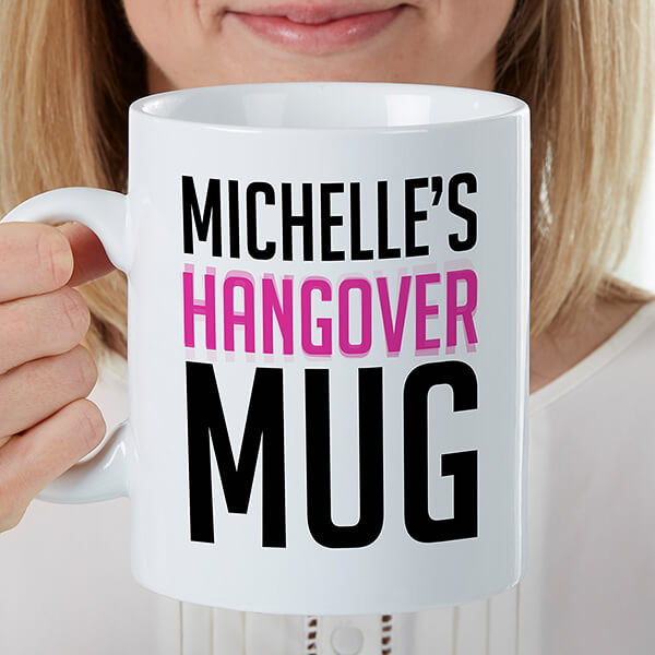 Giant Birthday Hangover Mug