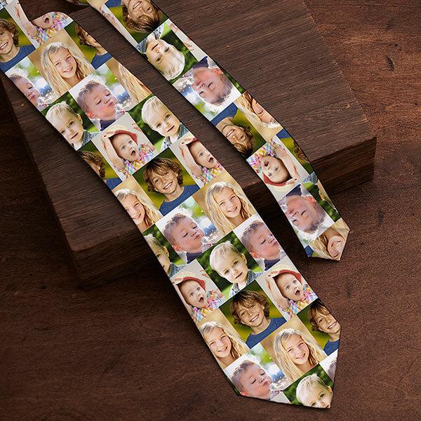 Custom Photo Tie for Dad