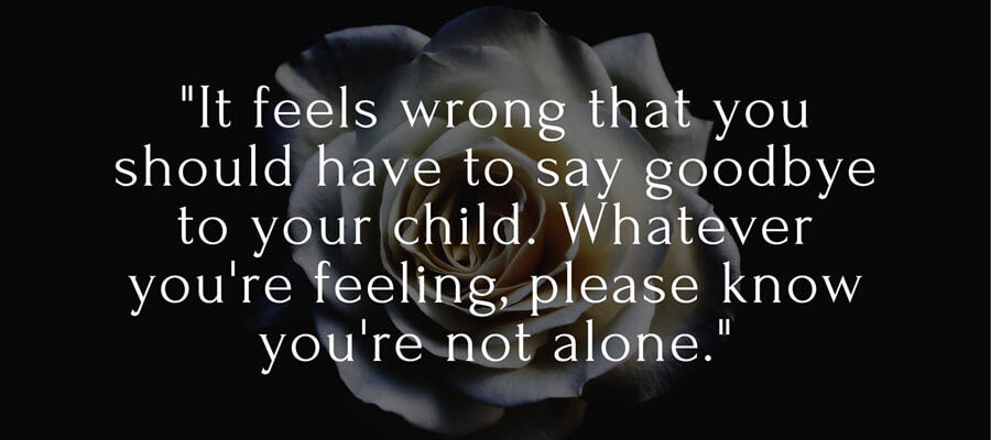 Sympathy Messages for Loss of a Child