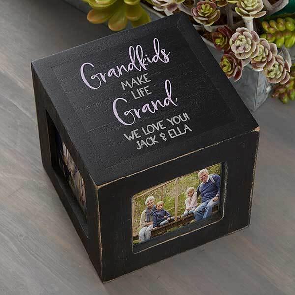 Grandparents Photo Cubes