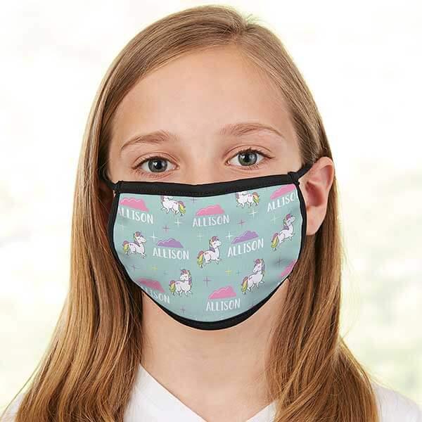 Unicorn Kids Face Masks