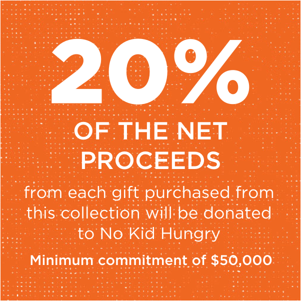 No Kid Hungry Personalization Mall Donation