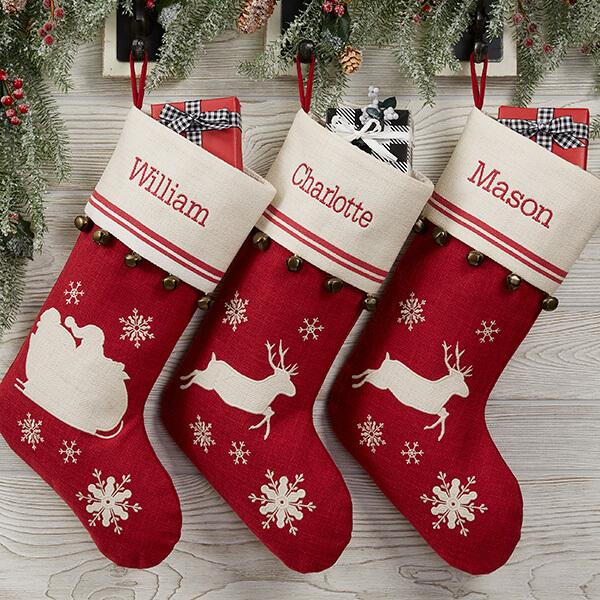 Nostalgic Noel Christmas Stockings
