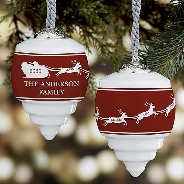 Nostalgic Noel Christmas Ornaments