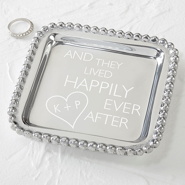10th Anniversary Gift - Aluminum Jewelry Tray