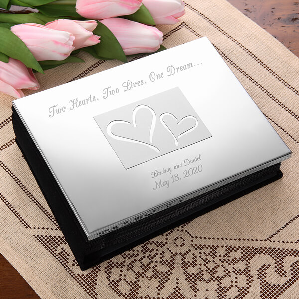 25th Anniversary Gifts by Year - Silver Photo Album