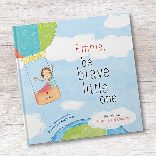 Be Brave Personalized Kids Book