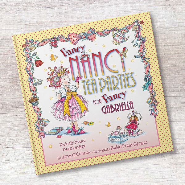 Fancy Nancy Personalized Kids Book