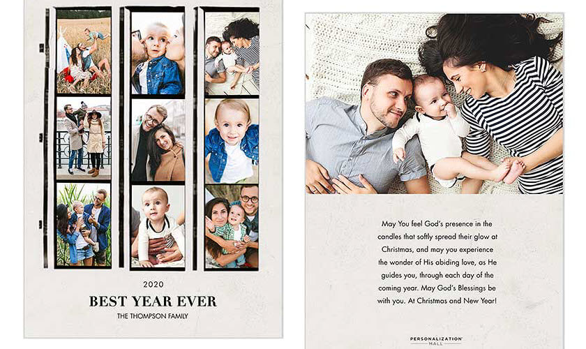Best Year Ever Christmas Cards
