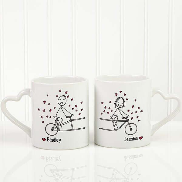 Couples Coffee Mug Set