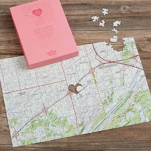 Custom Map Location Puzzle