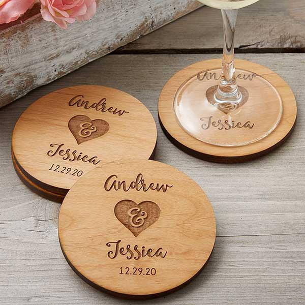 Engraved Wood Coasters