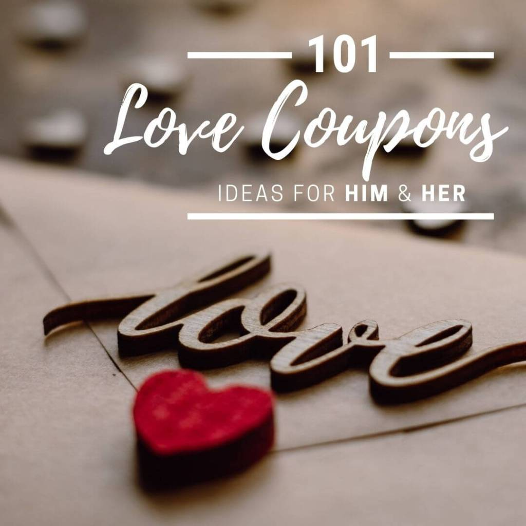 Share: 101 Ideas for Love Coupons
