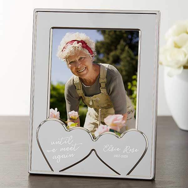 Until We Meet Again Wedding Memorial Table Frame