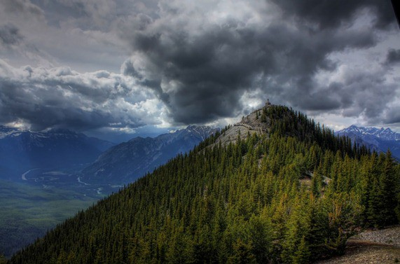 HDR Monte Banff 2